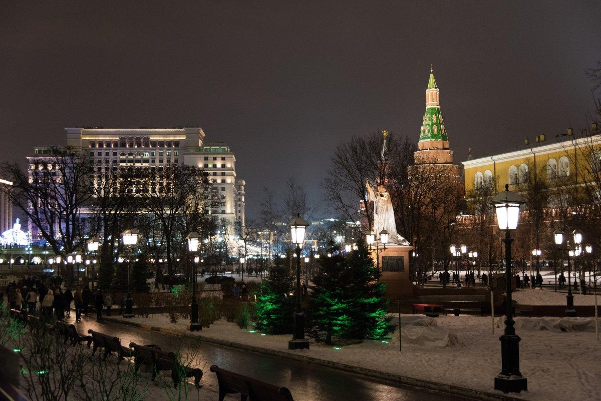 Огни Москвы - Владимир Безбородов