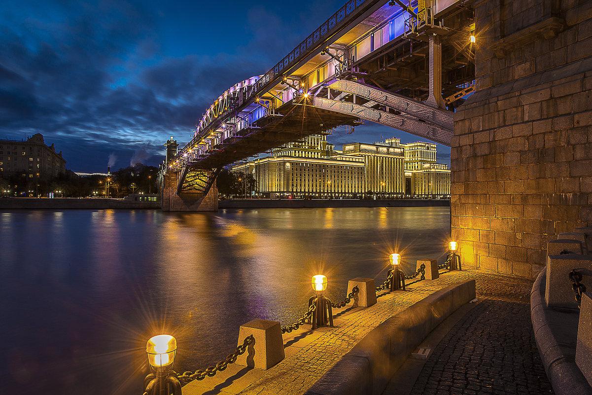 Андреевский мост. Москва - Борис Гольдберг