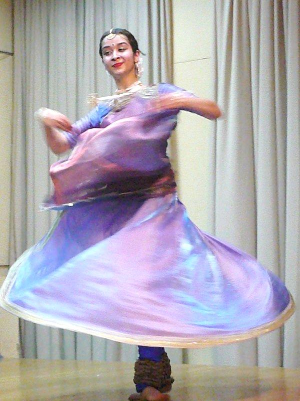 Индийский танец-рассказ - Жанна Литуева