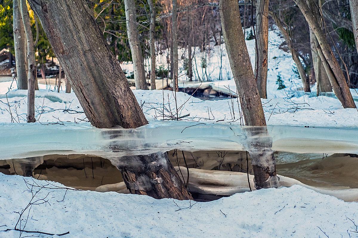 Зима дала трещину... - Евгений Мелт