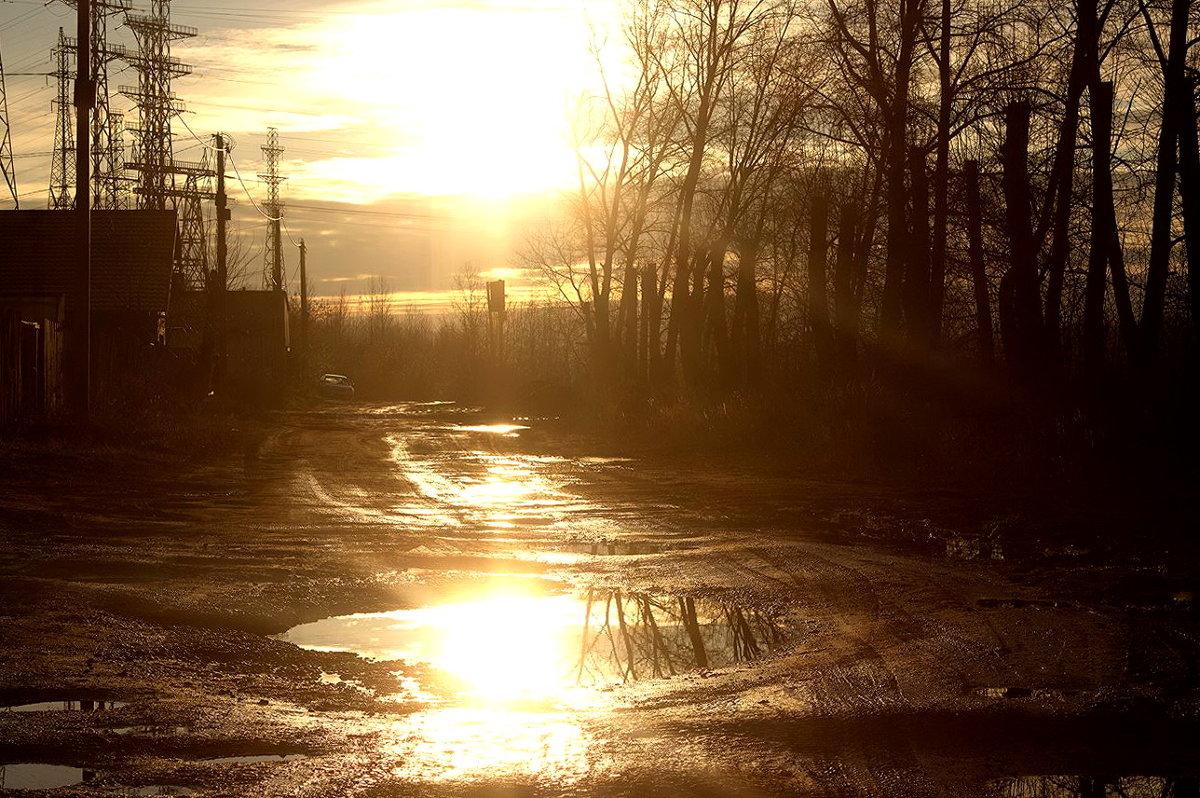 солнечный свет осенью - Михаил