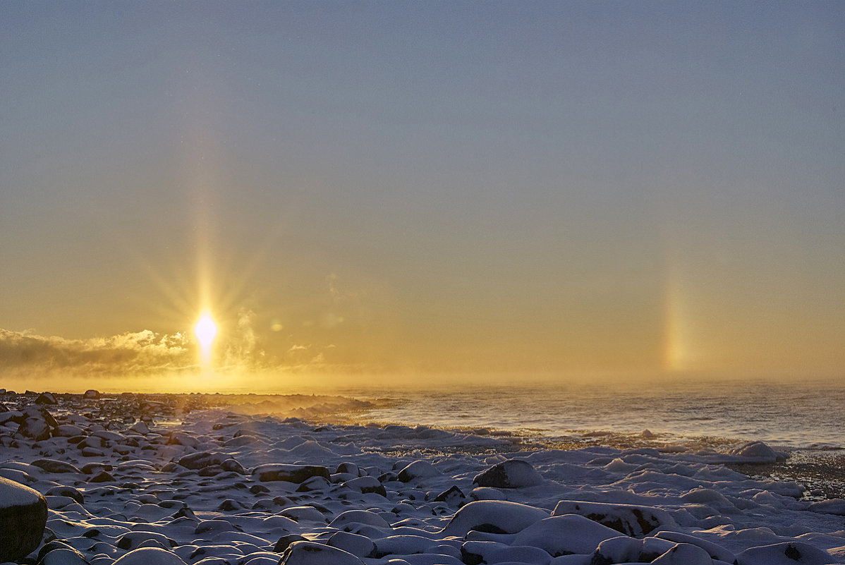 Восход солнца на Ладоге - Валентина Харламова
