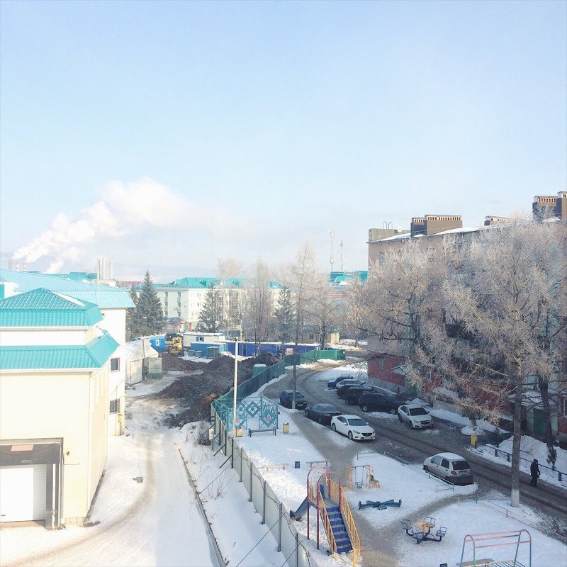 Морозное утро - Katerina