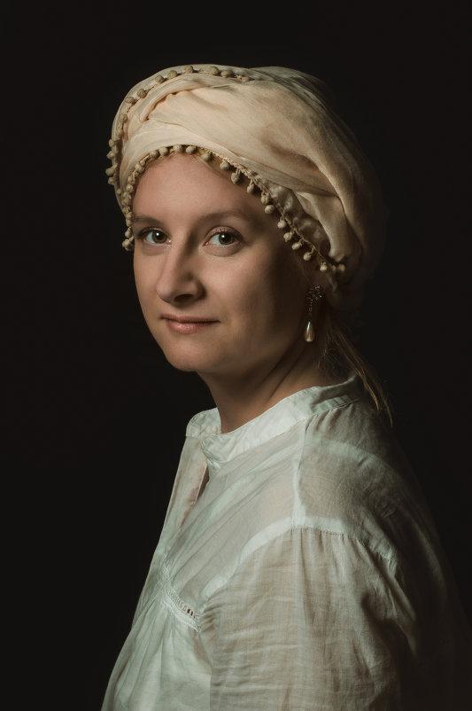 Девушка с жемчужной сережкой. - Olesia Kasabova
