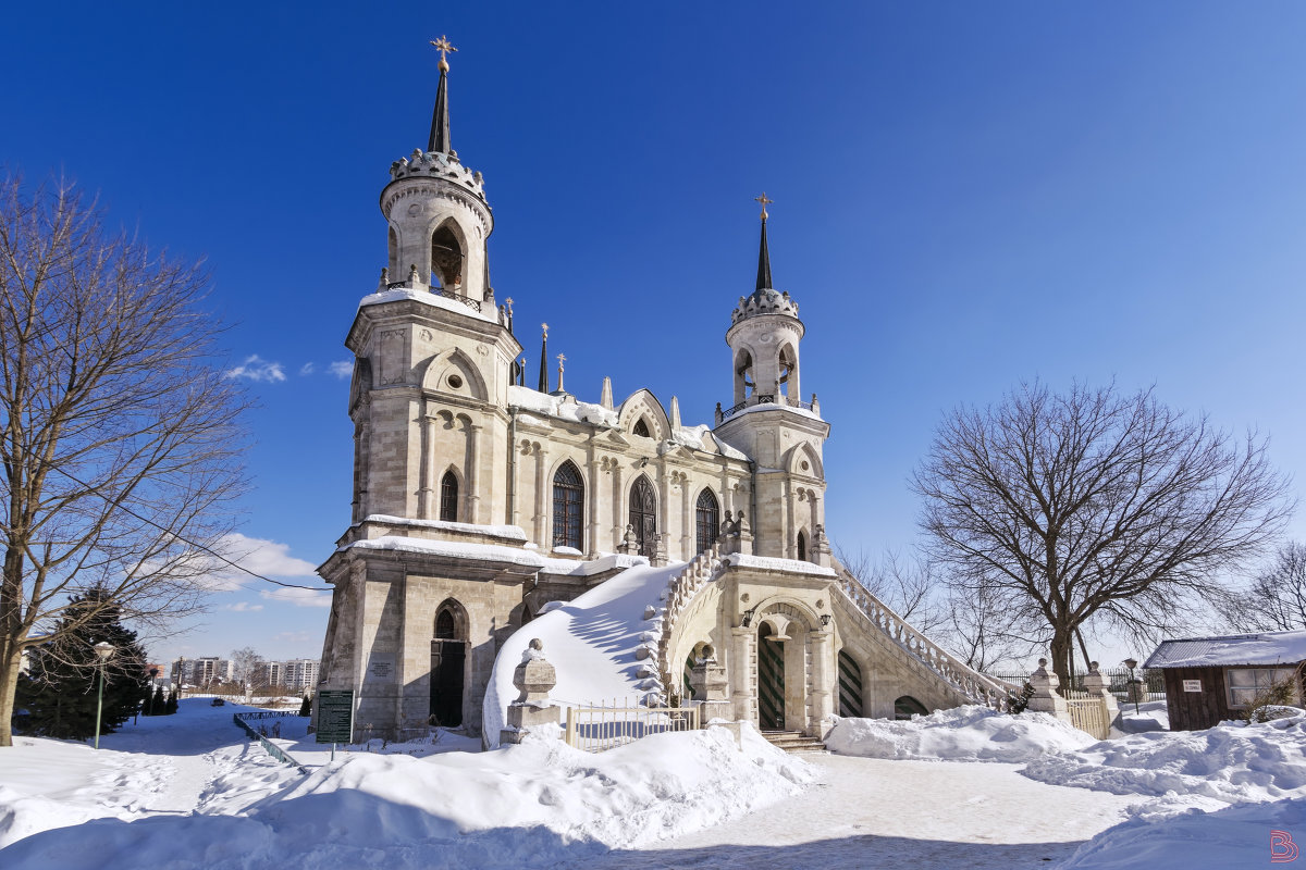 Церковь зимой - Валерий Вождаев