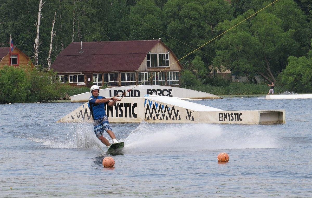 Спорт на озере - Вера Щукина