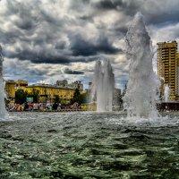 фонтан в НСК :: Валерий Панов