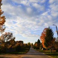 Осенние улицы :: Каролина Савельева