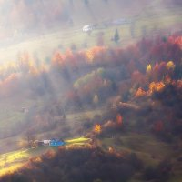 Полосатая  осень :: Андрій Кізима