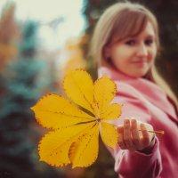 Осенний лист :: Ksyusha Pav