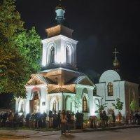 Пасхальная ночь в Полтаве :: sergey.redchenko Сергей Редченко