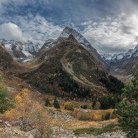 Осень в Тебердинском заповеднике. :: anatoly Gaponenko
