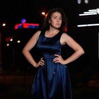 ночной Ставрополь и Александра :: Андрей Сидоров