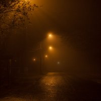Туман в городе. :: Анатолий. Chesnavik.