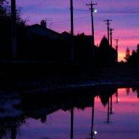 Закат солнца :: Анастасия Нестерова