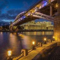 Андреевский мост. Москва :: Борис Гольдберг