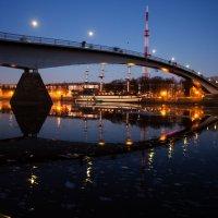 Огни  ночного города :: Ольга Лиманская