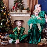 Новогодняя ночь в эльфийском стиле :: Ольга Белёнова