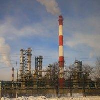 Нефтеперегонный завод под Ярославлем. :: LIDIA PV