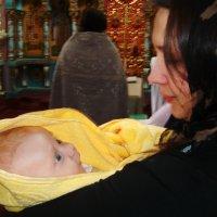 "В Храме: ""Таинство Крещения"" :: Aleks Ben Israel"