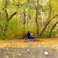 Прогулка в парке :: Елена Осетрова