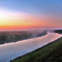 Утро на речке :: Владимир