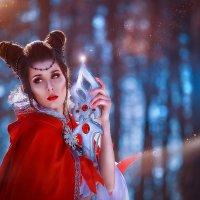 Волшебница в лесу :: Елена Оберник