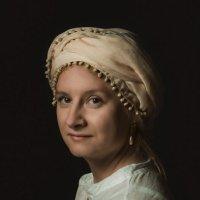 Девушка с жемчужной сережкой. :: Olesia Kasabova
