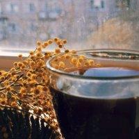 Утро с мимозами и чашкой кофе :: _ a.bakirova _