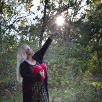 Ловить лучи,что может быть лучше? :: Роза Бара