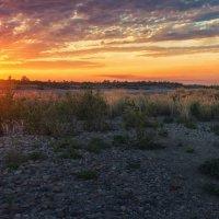 Закат на реке Белой :: cfysx