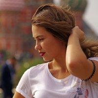 Девушка и ветер :: Дмитрий Моркин