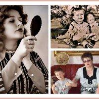 Три  возраста,ребенок,молодая  женщина  ,и  бабушка ! :: backareva.irina Бакарева