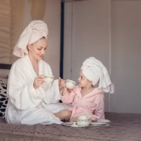 Мама и дочь :: Тина Ялова