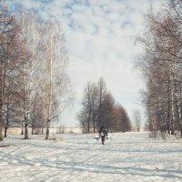 Одинокий рыбак :: Юлия Авдеева