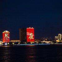 Вид на Китай с набережной Благовещенска :: Наталья Мерзликина
