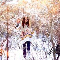 Прекрасная нимфа зимнего леса...) :: Нина Трушкова