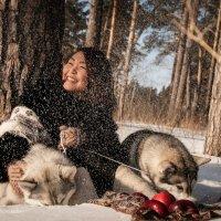 Зима :: Анна Лазаренко