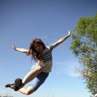 В прыжке. :: Вера Щукина