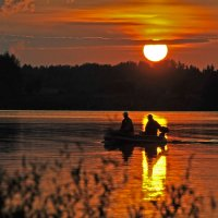 На закате... :: Ирина Токарева