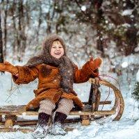Ура! Первый снег! :: Татьяна Сажина