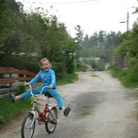Девочка на велосипеде :: Яна Магик