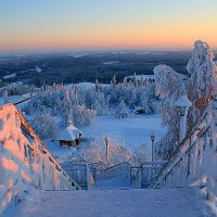 Вечер над Белой горой :: Галина Ильясова