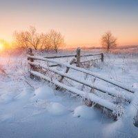 Январское утро... :: Александр Кукринов
