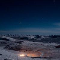 Пейзаж при лунном свете. :: Юрий Харченко
