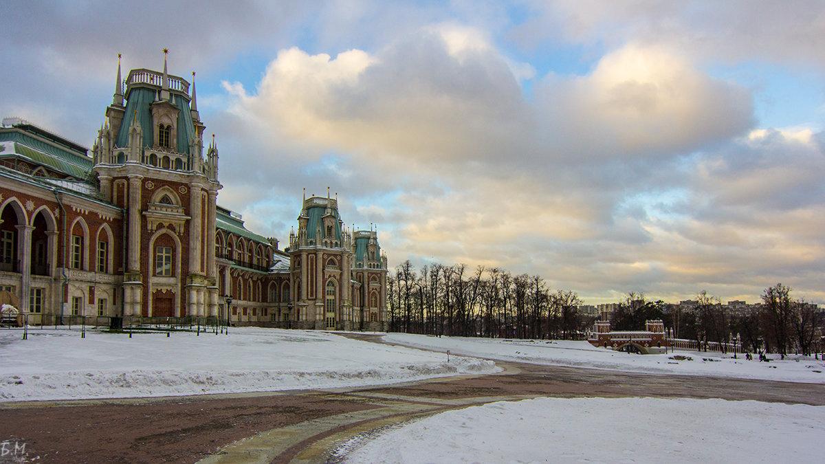 Зима в Царицыно - Михаил Борисов