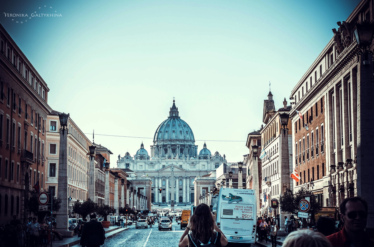 Ватикан - Вероника Галтыхина