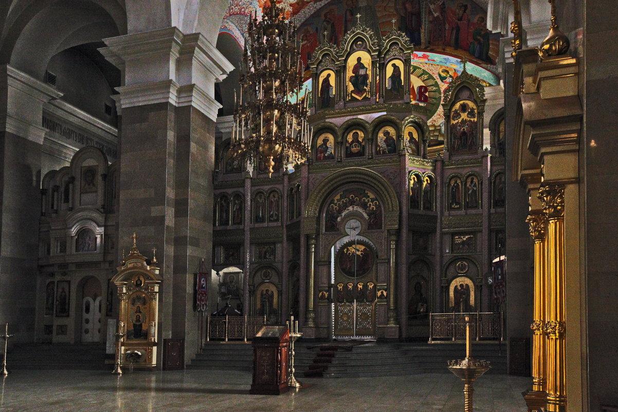 В храме Кирилла и Мефодия: Самара - Александр Сендеров