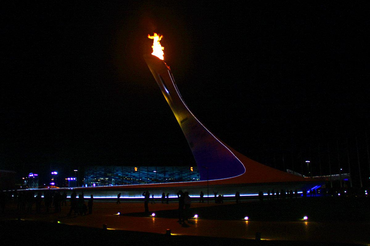 Сочи-2014. Олимпийский огонь. Благословение и Праздник! - Леонид Нестерюк