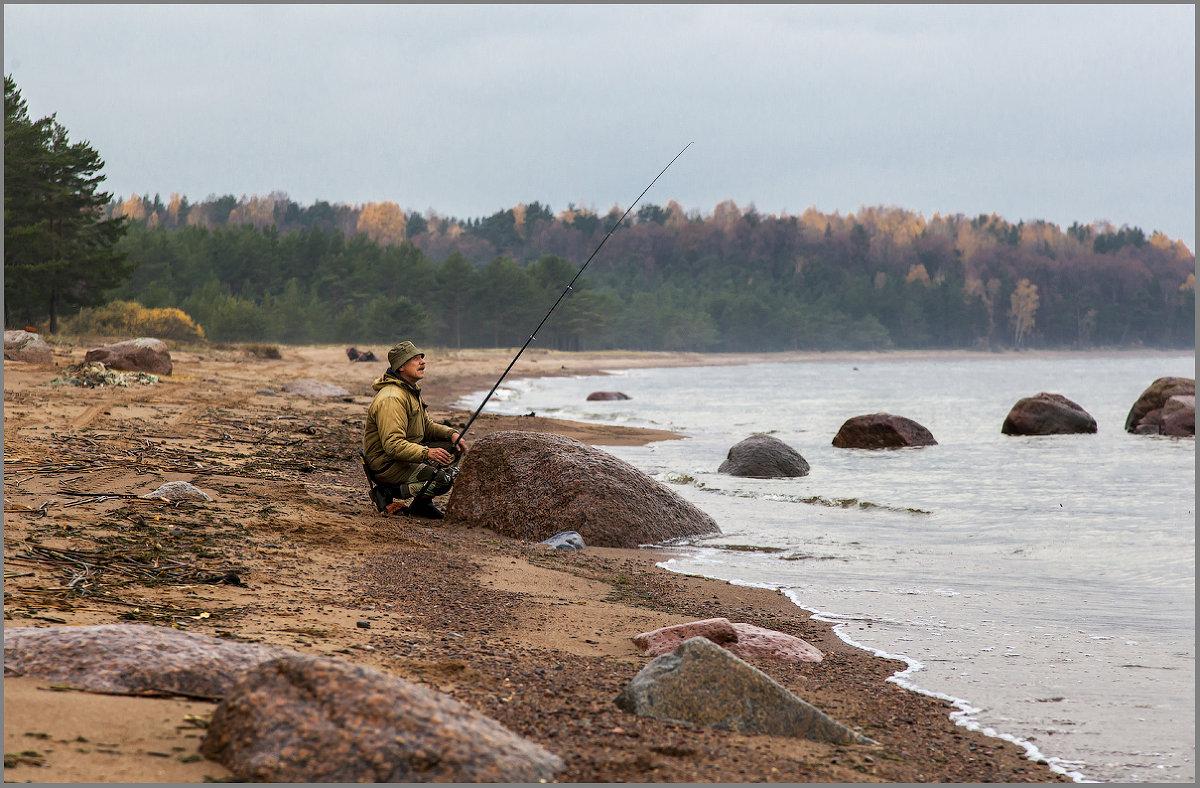 Запрет на ловлю спиннингом с берега